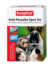Load image into Gallery viewer, Beaphar Anti-Parasite Spot On For Rabbit, Guinea Pigs, Ferrets And Rats