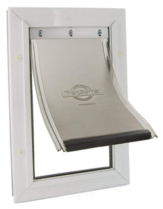 "Petsafe Staywell Aluminium Pet Door 600 For Big Cat/Small Dog, Small, Overall Size: 298.7Mm X 201.69Mm (11 3/4 X 7 15/16"")."
