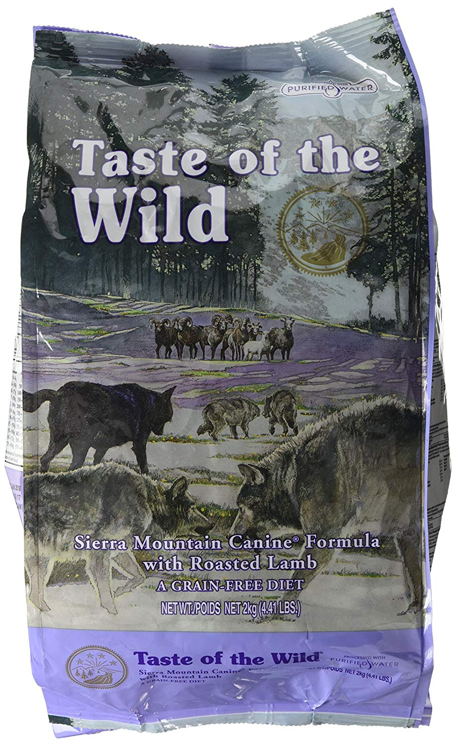 Taste Of The Wild Dog Food Sierra Mountain With Roasted Lamb 2Kg