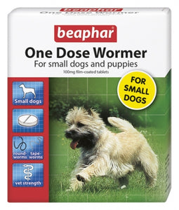 Beaphar One Dose Wormer