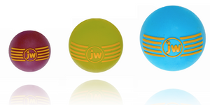 JW Pet iSqueak Rubber Ball