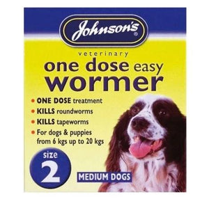 Johnson's One Dose Wormer