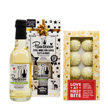 Load image into Gallery viewer, Woof & Brew Pawsecco with white chocolate stars