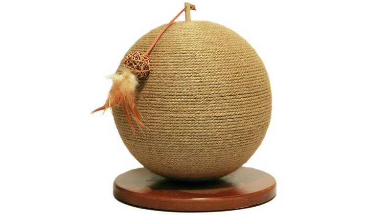 Rosewood Parsley Cat Scratching Post
