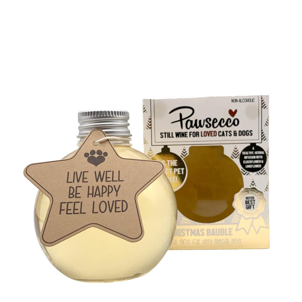 WOOF & BREW Pawsecco Baubles
