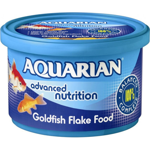 Aquarian Goldfish Fresh Water Flake Food