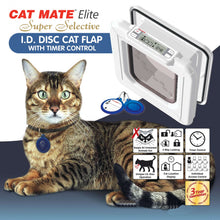 Load image into Gallery viewer, Cat Mate Elite Id Disc Cat Flap
