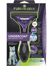 Load image into Gallery viewer, FURminator Undercoat deShedding Tool for Large Cat