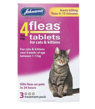 Load image into Gallery viewer, Johnson's 4 Fleas Tablets