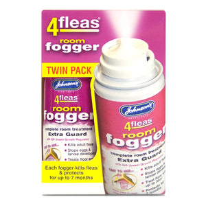Johnson's 4fleas Room Fogger Twin Pack