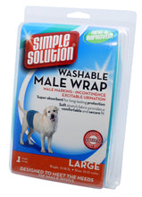 Load image into Gallery viewer, Simple Solution Washable Male Wrap
