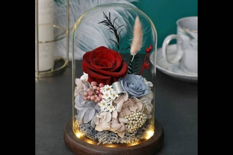 Valentines Day Preserved Flowers
