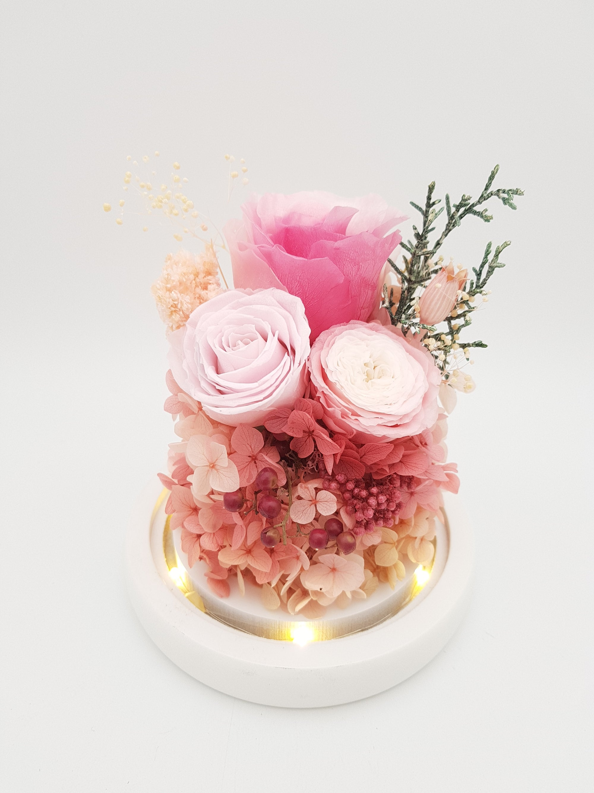 [V-day] Preserved Flower 297 (w led lights)