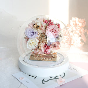 [MUM] Preserved Flower 418 (w led lights)