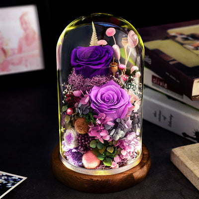 Preserved Flower 322 (w led lights)