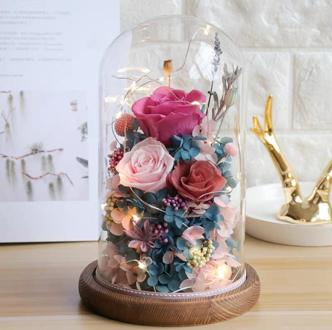 Preserved Flower 300 (w led lights)