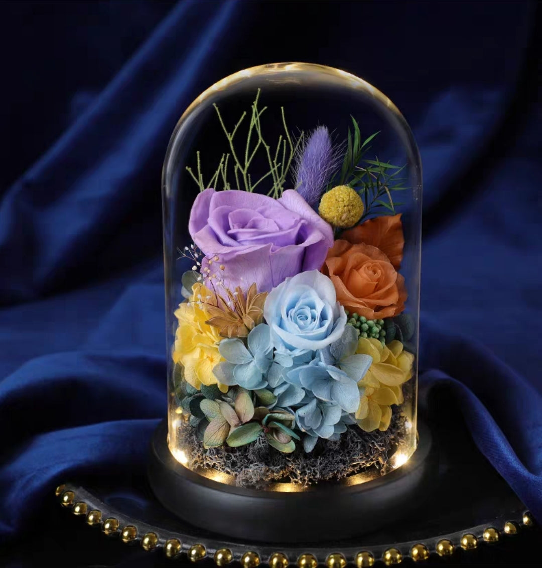 Preserved Flower 330 (w led lights)