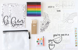Summer Fun Art Kit
