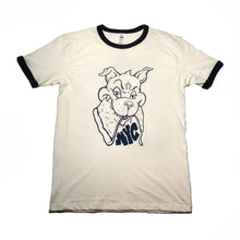 Load image into Gallery viewer, NYC Pizza Wolf Ringer Tee