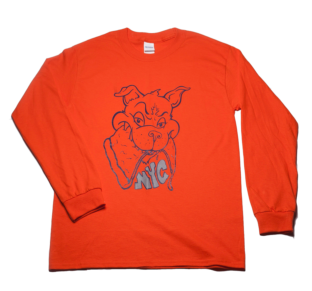 NYC Pizza Wolf LS w. 3M detail