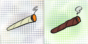 Joint+Blunt Lil Prints Set
