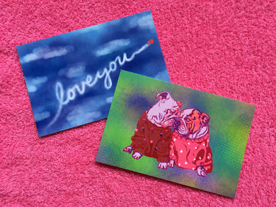 Love Notes Postcards