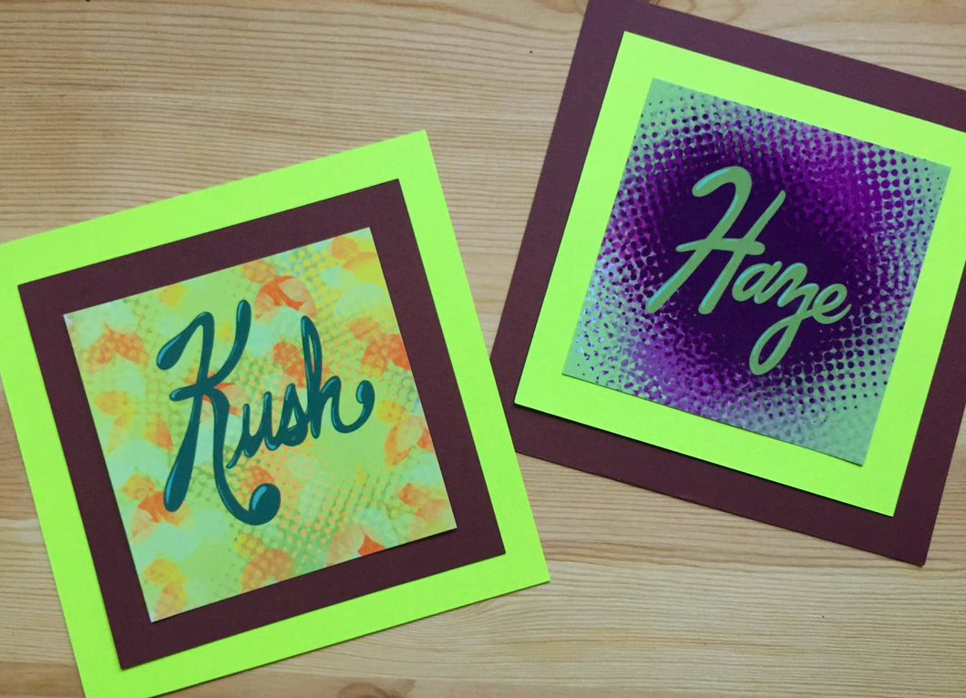 Kush+Haze Lil Prints Set