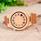 Luxury Bamboo Wood Watch