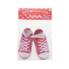"Pink Sneakers - Shoes for 18"" Doll"