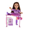 "18"" Doll & Accessories Playset - Ballet Studio - Be My Girl"