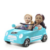 "18"" Convertible Car - Be My Girl - Blue"