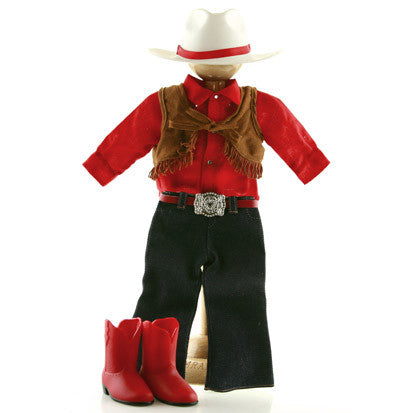 "18"" Doll Outfit- Western Riding"