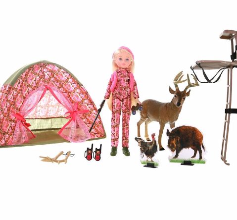 Adventure Girlz Hunting Play Set
