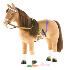 10-Inch English Horse - Chestnut