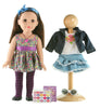 18 Inch Deluxe Doll with Additional Outfit - Brunette