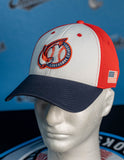 Patriotic (Navy Brim) Hat