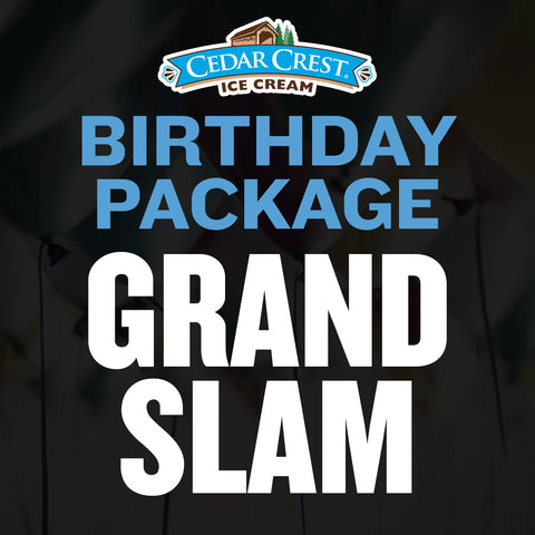 Cedar Crest Ice Cream Grand Slam Package