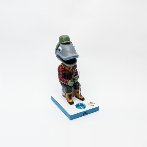 Ice Fishing Gill Bobblehead