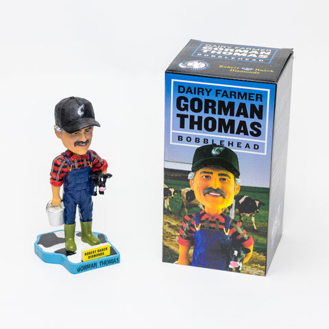 Gorman Thomas the Dairy Farmer Bobblehead