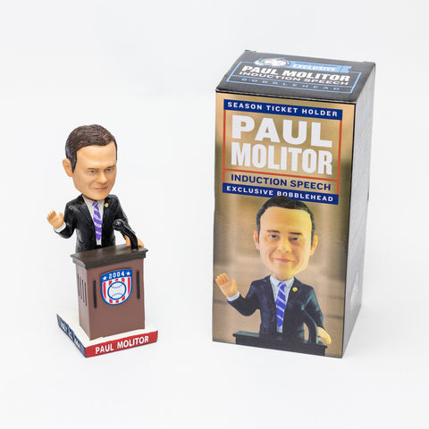 Paul Molitor HOF Induction Speech Bobblehead