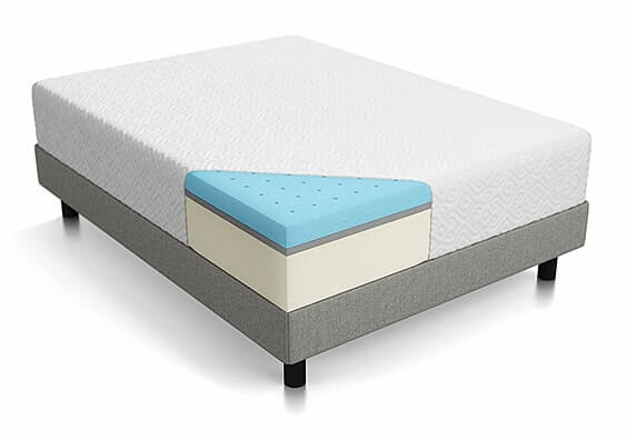 "Queen Size 10"" Memory Foam Mattress"