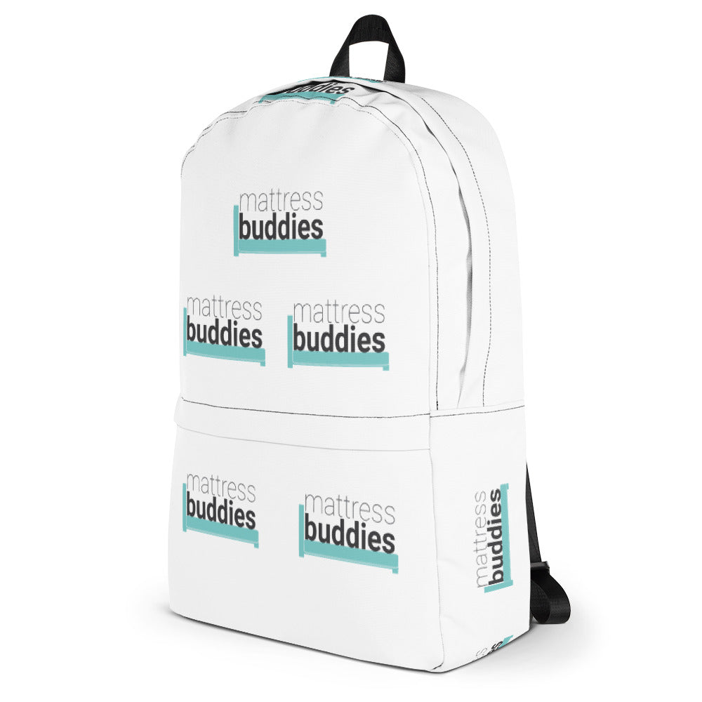 Side of Mattress Buddies Backpack