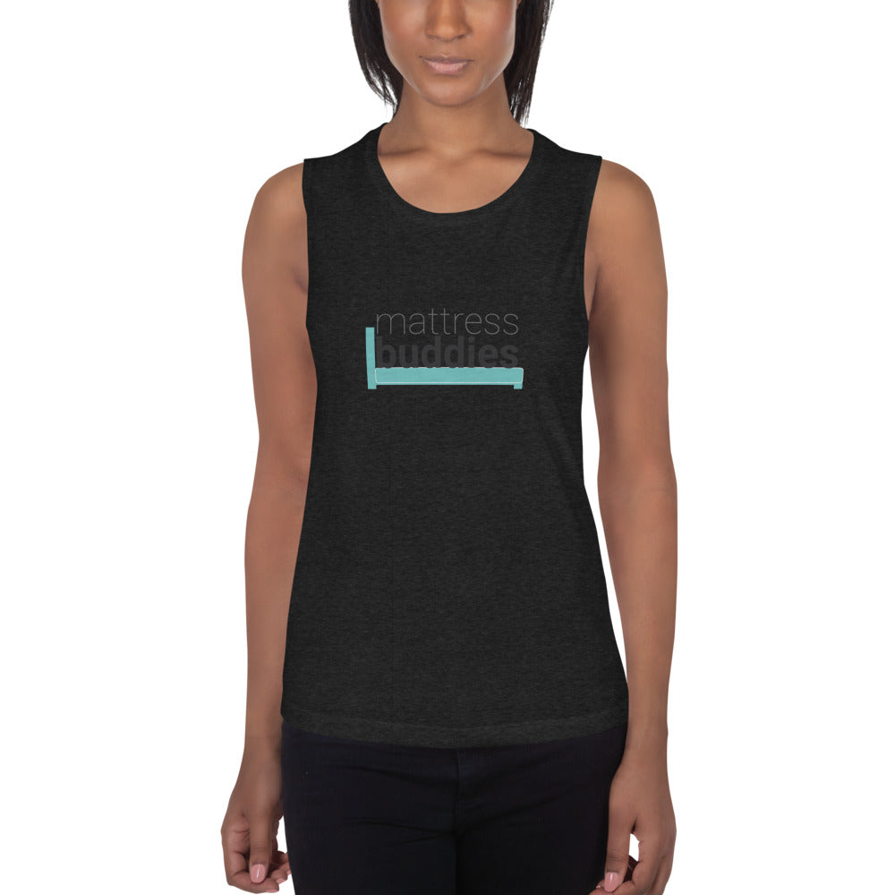 Mattress Buddies Ladies' Muscle Tank
