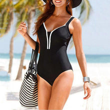 Collarless  Backless  Plain  Sleeveless  One Piece