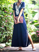 Hippie Abaya Oversize Women's Maxi Dress