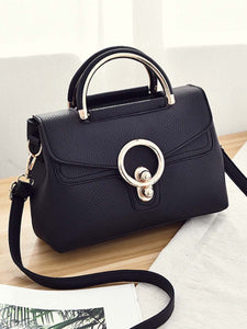 Chic Pu Squared Crossbody Bag
