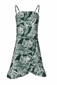 Elegant Sexy Printed Irregular Vacation Mini Dress