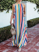 Halter  Printed Maxi Dress