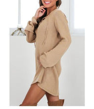 Cross Strap Sweater Shift Dress