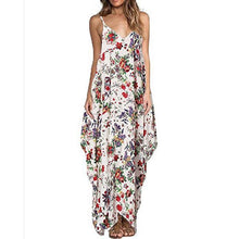 Printed Loose Sling Sleeveless Dress